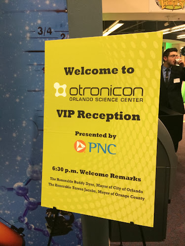 Otronicon v.9 opened at Orlando Science Center on 1/16/14 with a VIP reception.