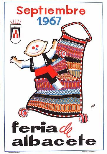 Cartel Feria Albacete 1967