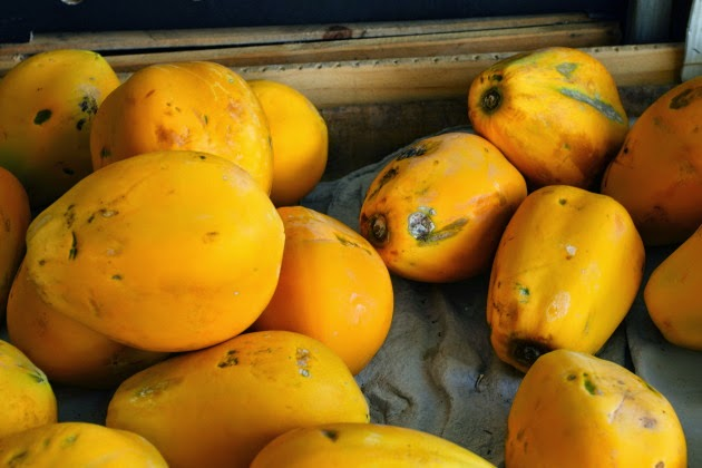 Paw Paw - a delicious tropical fruit of Australia