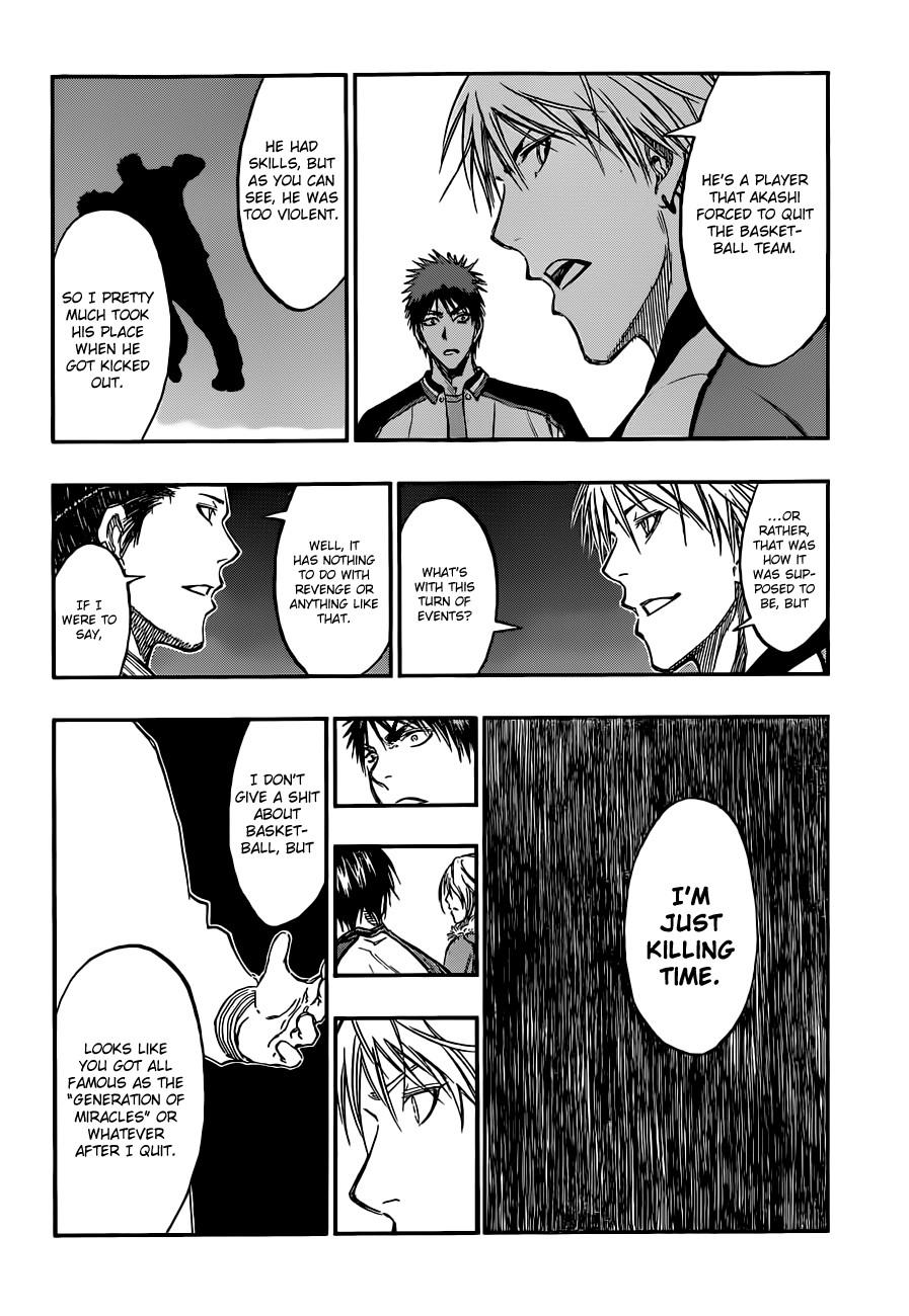 Kuroko no Basket Manga Chapter 170 - Image 12