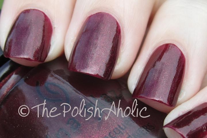 The PolishAholic: China Glaze Vampy