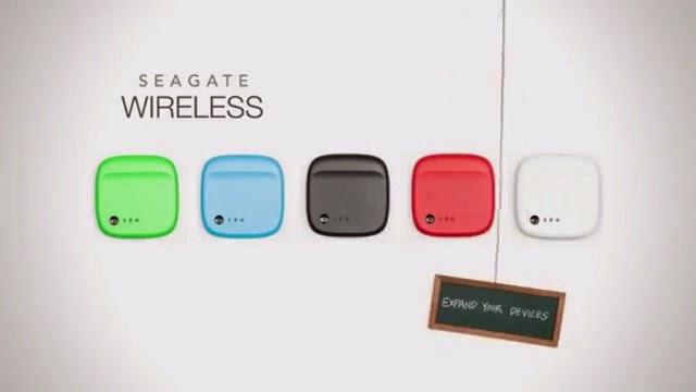 Seagate giới thiệu giải pháp lưu trữ không dây 500 GB cho smartphone và tablet