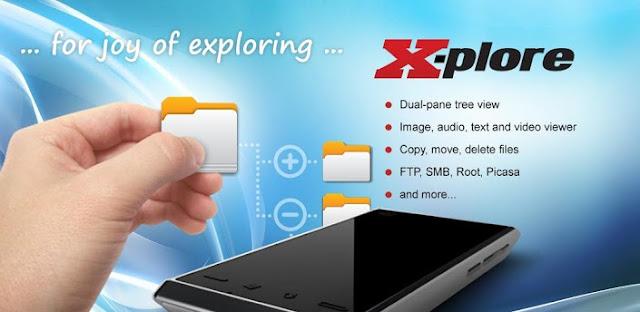 *管理超方便的雲端檔案總管:X-plore File Manager (Android App) 1