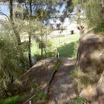Stairs down to McKell Park Playground (29495)
