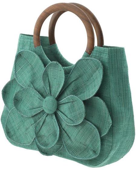 Inspiração flores - bolsa
