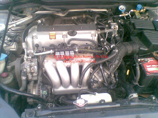 CNG KIT SEQUENTIAL IN HONDA ACCORD 2.4 MANUAL / AUTO