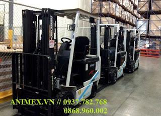 Xe nâng điện Nissan Unicarriers 1.5 tấn
