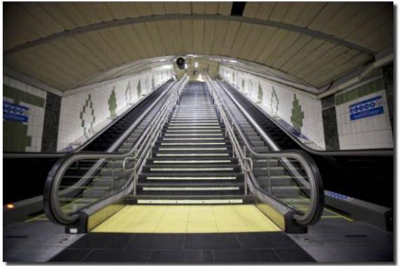 Modernización de 298 escaleras mecánicas