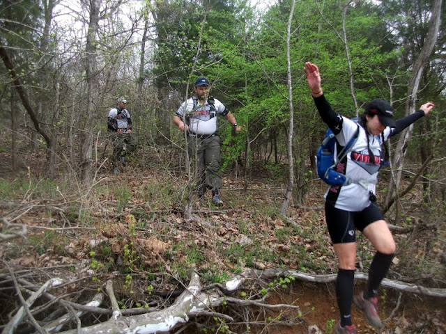 Bushwhacking at LBL Adventure Race