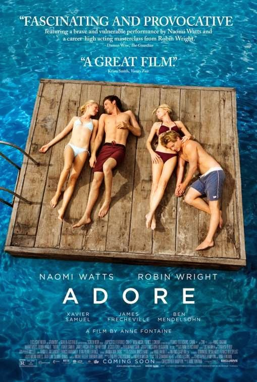 Poster Of English Movie Adore (2013) Free Download Full New Hollywood Movie Watch Online At Alldownloads4u.Com