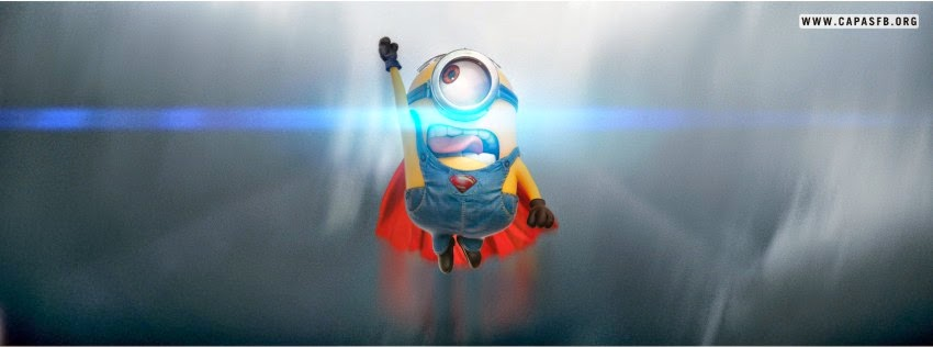 Capas para Facebook Minion Superman