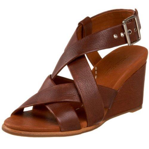 Yellow Box Women/'s Flax Wedge Sandal Size 7.5 M US Tan