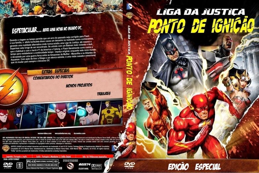 Baixar Filme Liga+Da+Justi%25C3%25A7a+ +Ponto+De+Igni%25C3%25A7%25C3%25A3o Liga da Justiça: Ponto de Ignição (Justice League: The Flashpoint Paradox) (2013) BDRip AVi Dublado