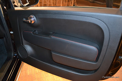 Fiat 500 Abarth door panels - abarthpower.com