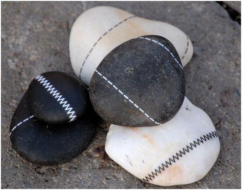 piedras como pisapapeles
