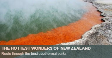 Geothermal Parks New Zealand