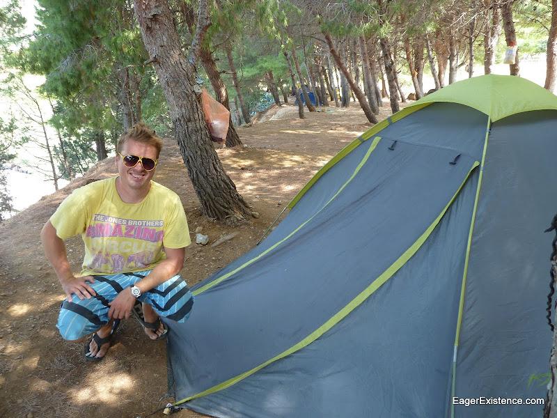 Ian [EagerExistence] Camping in Croatia