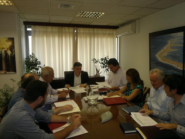 Νέες προοπτικές για τον δήμο Ι.Π. Μεσολογγίου Σύσκεψη εργασίας Μωραΐτη – Κατσούλη.