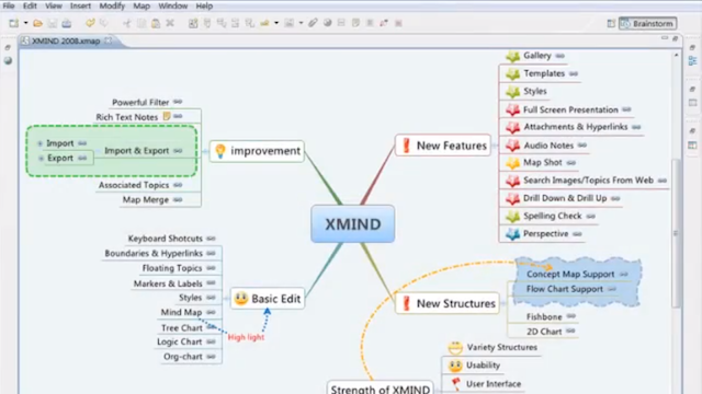 free mind mapping software windows 10 Linux