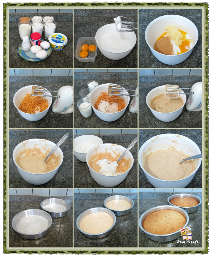 Bolo de amendoim com marshmallow 5