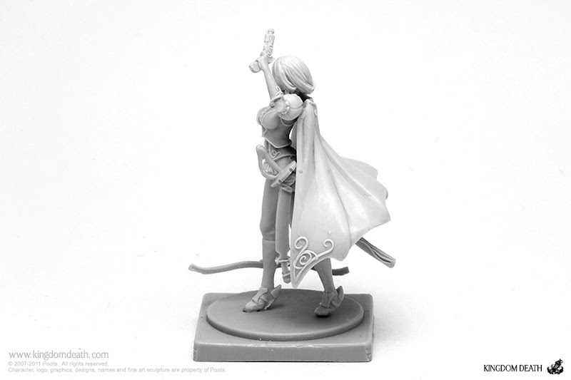kingdom death character female great game hunter