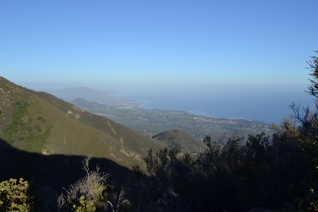 eastern view to Carpinteria
