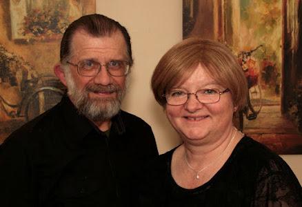 Roberta and I Christmas 2011