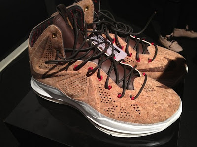 nike lebron 10 gr cork championship 3 03 Nike LeBron X NSW Cork Has Been Put on a Display