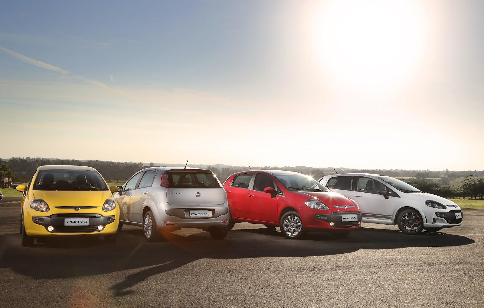 O Novo Punto chegou na Carboni Fiat: um carro de corpo e alma esportivo punto