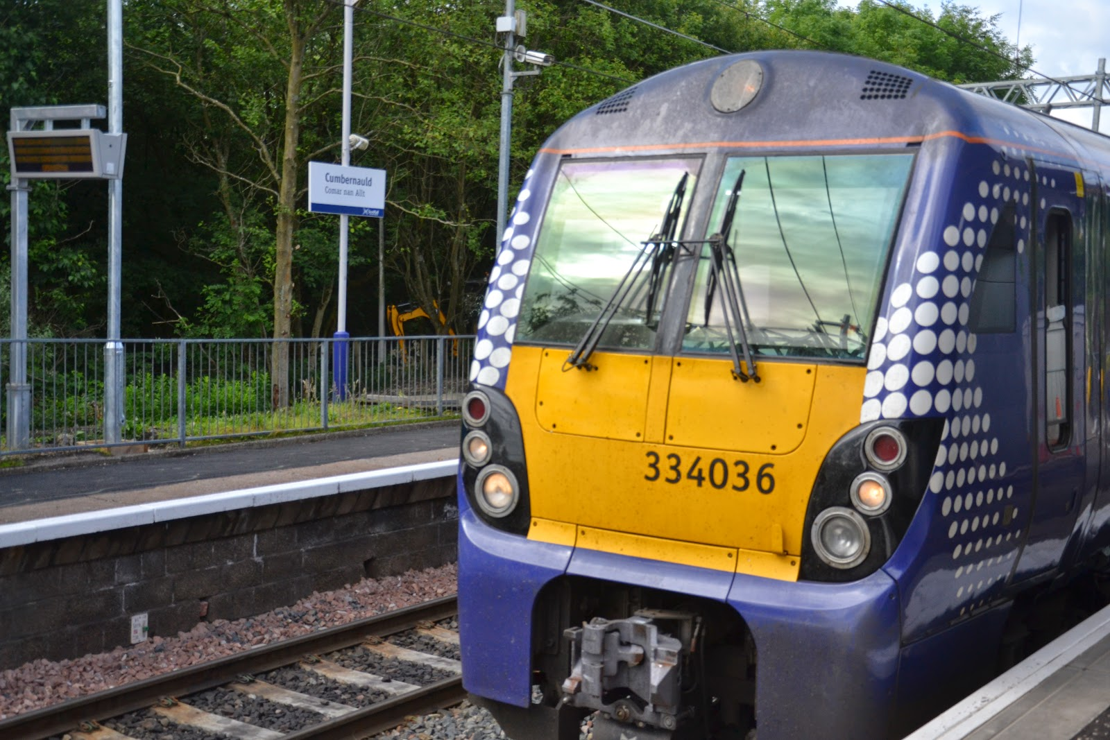 14-07-2014 - By Scott Campbell (+44) 0774 296 870 - Official opening of Cumbernauld railway station, by Jamie Hepburn MSP; Picture 20.