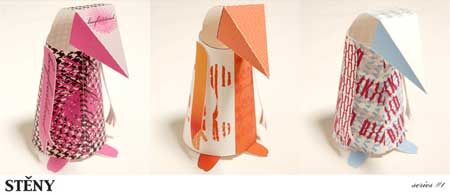 Steny Paper Toy Series 2