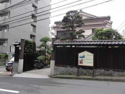 田中屋と旧東海道五十三次