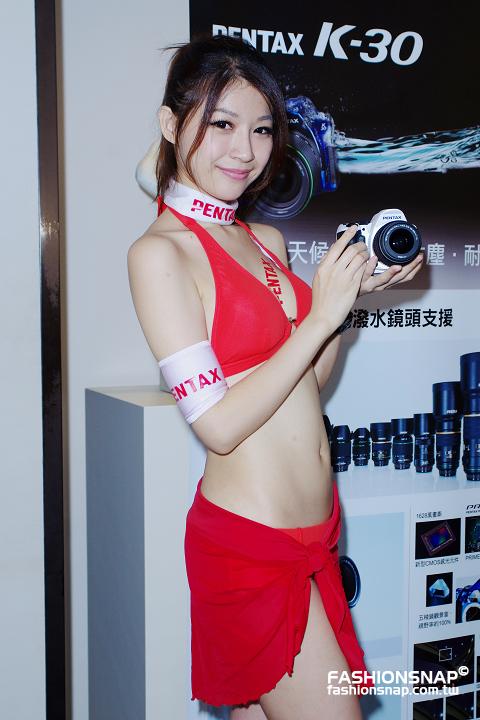 2012.07.19 PENTAX K-30發表會 - Show Girl : Spring Pan