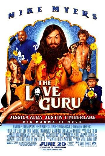 Poster Of English Movie The Love Guru (2008) Free Download Full New Hollywood Movie Watch Online At Alldownloads4u.Com