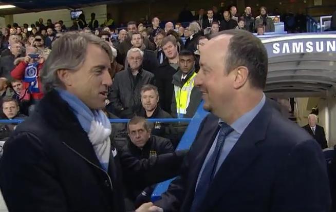 Rafael Benitez, Chelsea - Manchester City