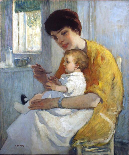 Francis Luis Mora - Feeding Rosemary