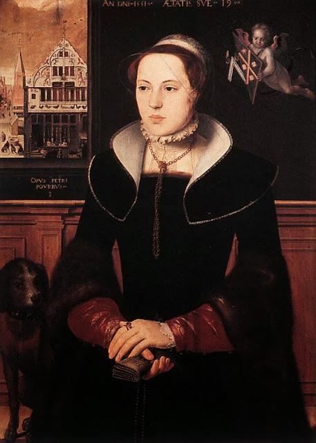 Pieter Pourbus - Portrait of Jacquemyne Buuck