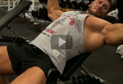 TNA Pro Wrestler Rob Terry Trains with Cody Montgomery