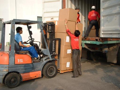 Dịch vụ bốc xếp hàng hóa tại Tiền Giang được tổ chức chuyên nghiệp.
