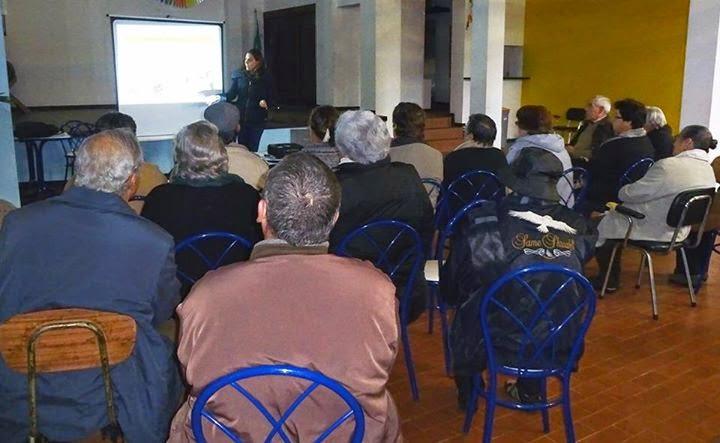 Ação de formação sobre osteoperose realizada na Freguesia da Penajóia