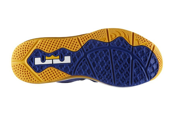 Nike LeBron 9 Low BlueYellow 8220Entourage8221 Available at Nikestore