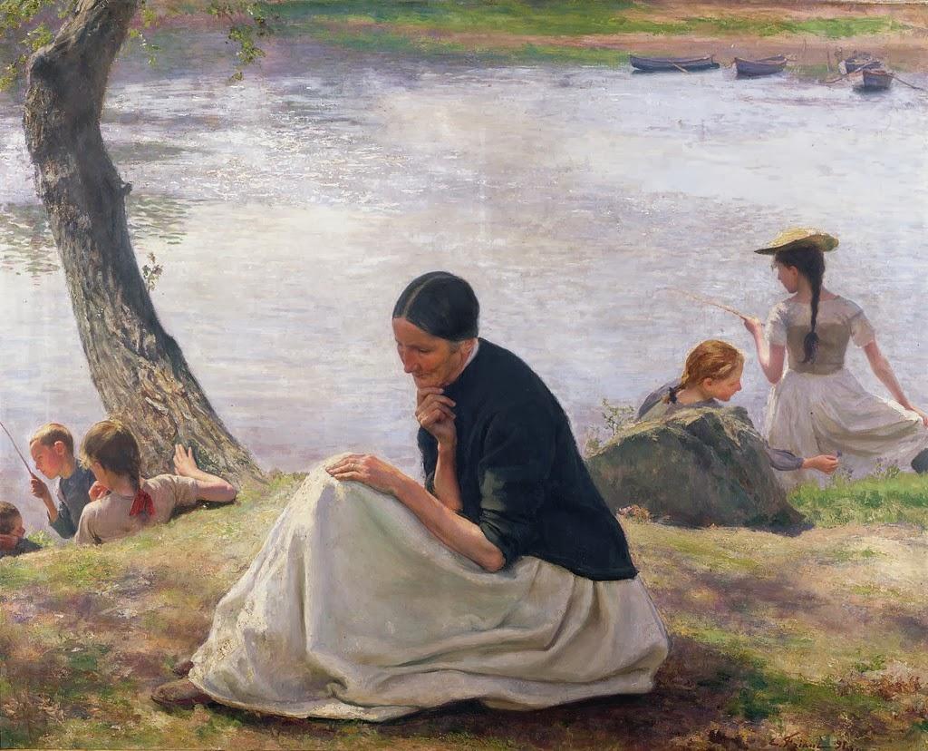 Émile Friant - Souvenir