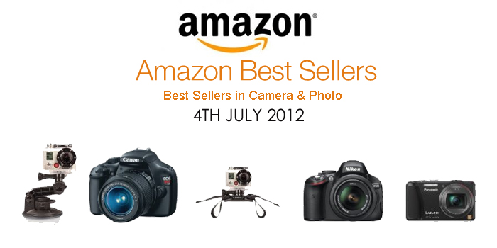 5 Most Popular Photography Gears on Amazon Best Sellers (4th July 2012) post image