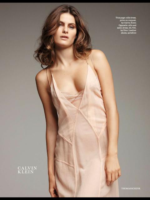 Isabeli Fontana - Elle UK febrero 2012