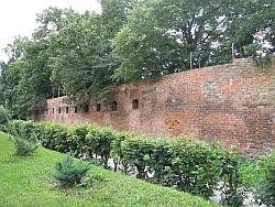 Goleniów mury obronne