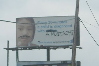 funny autism graffitti