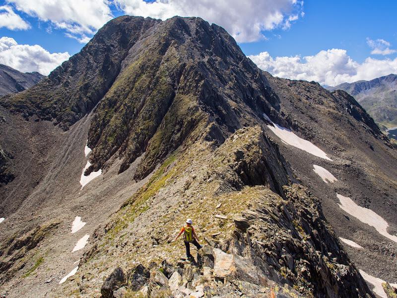 Cresta nord-est del Carlit