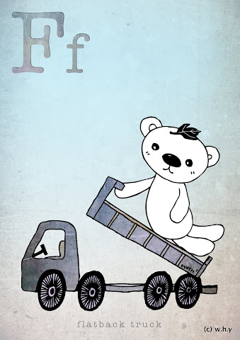 FlatbackTruck Bear