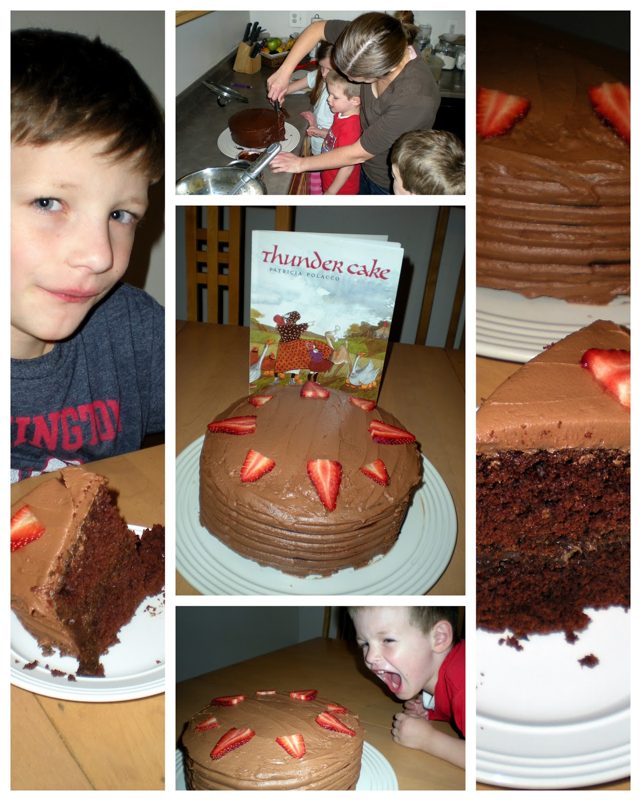 And This Time We Braved The Recipe Which Includes Pureed Tomatoeade A Thunder Cake