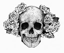 skull-and-roses-tattoo-design-idea2